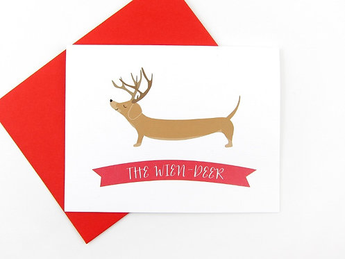 THE WIEN-DEER | CARD