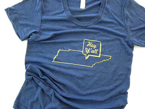HEY Y'ALL TENNESSEE | WOMEN'S TSHIRT