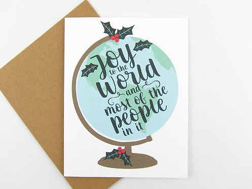 JOY TO THE WORLD | CARD