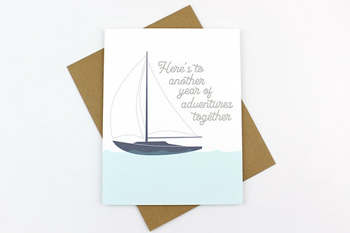 ANOTHER YEAR OF ADVENTURES | CARD | WHOLESALE