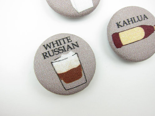 HOW TO MAKE A WHITE RUSSIAN | SET OF 5 MAGNETS | WHOLESALE