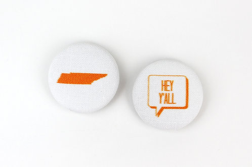 HEY Y'ALL TENNESSEE | SET OF 2 MAGNETS