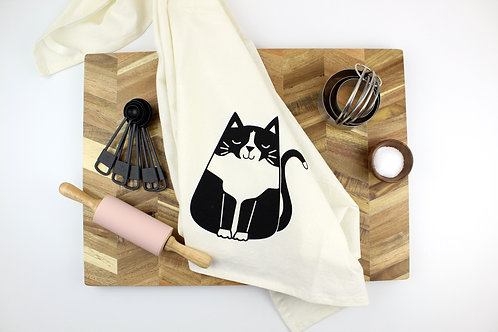 TUXEDO CAT | KITCHEN TOWEL | WHOLESALE