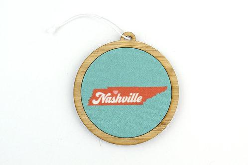 RETRO NASHVILLE | ORNAMENT