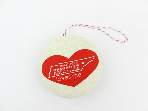 KNOXVILLE LOVES ME | ORNAMENT