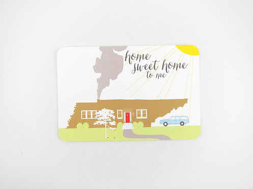 HOME SWEET HOME TENNESSEE | POSTCARDS | WHOLESALE