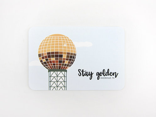 STAY GOLDEN | POSTCARDS | WHOLESALE