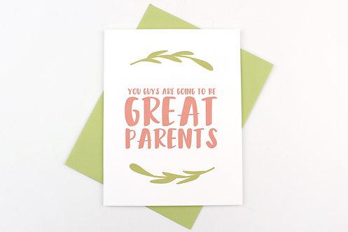 GREAT PARENTS | CARD | WHOLESALE
