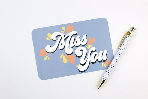 MISS YOU | POSTCARDS | WHOLESALE