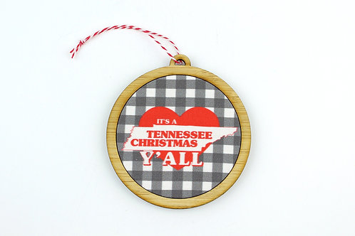 IT'S CHRISTMAS Y'ALL | ORNAMENT