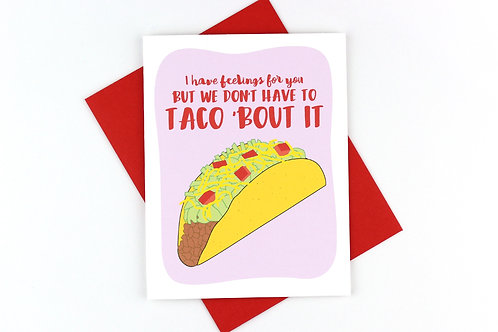 TACO 'BOUT IT | CARD | WHOLESALE