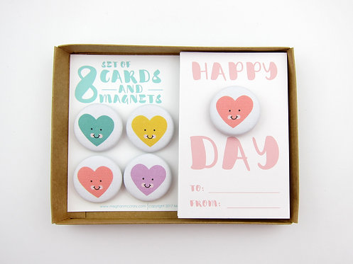 HAPPY HEART DAY | CLASSROOM VALENTINES | WHOLESALE