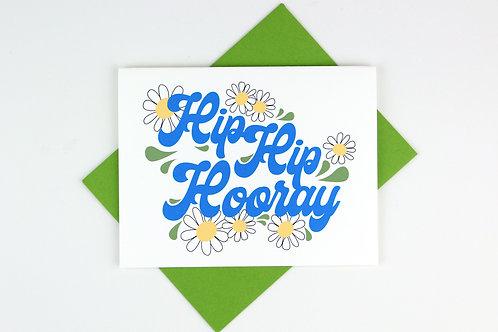 HIP HIP HOORAY | CARD