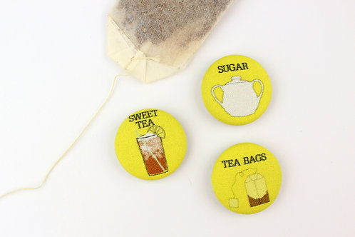 HOW TO MAKE SWEET TEA | SET OF 5 MAGNETS | WHOLESALE