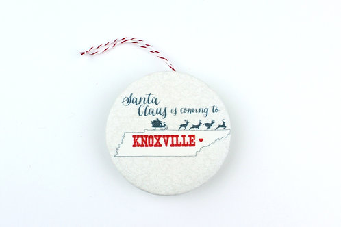 SANTA CLAUS IS COMING TO KNOXVILLE | ORNAMENT