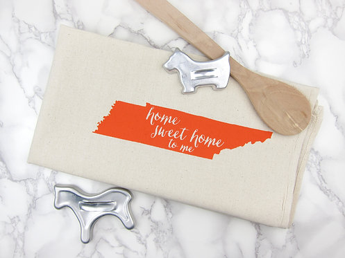 HOME SWEET HOME TENNESSEE   KITCHEN TOWEL
