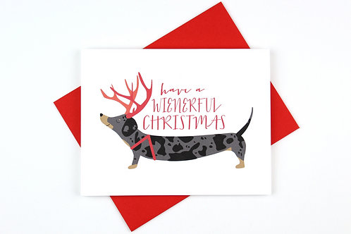 WIENERFUL CHRISTMAS | CARD | WHOLESALE