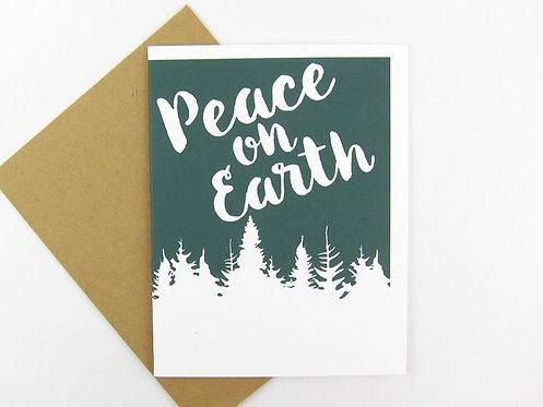 PEACE ON EARTH | CARD | WHOLESALE