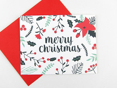 MERRY CHRISTMAS | CARD | WHOLESALE