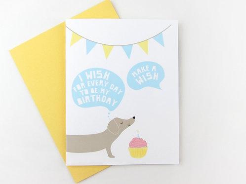 MAKE A WISH | CARD