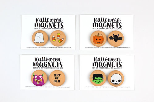 HALLOWEEN | SET OF MAGNETS | WHOLESALE