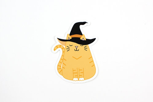 WITCH CAT | STICKER | WHOLESALE