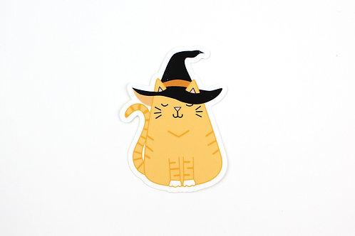WITCH CAT | STICKER