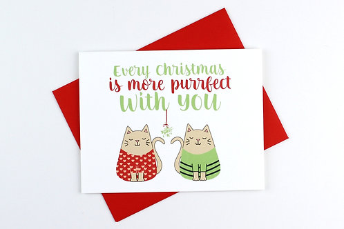 MORE PURRFECT | CARD