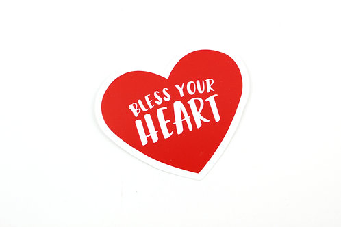 BLESS YOUR HEART | STICKER | WHOLESALE