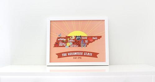 THE VOLUNTEER STATE | PRINT