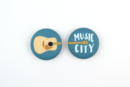 MUSIC CITY | SET OF 2 MAGNETS | WHOLESALE