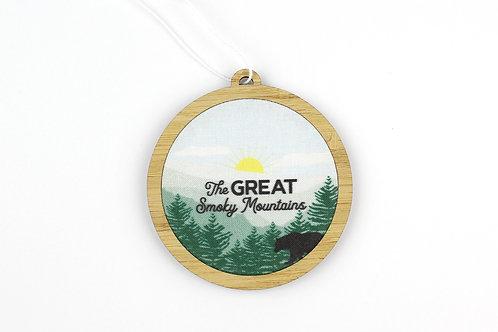 THE GREAT SMOKY MOUNTAINS | ORNAMENT
