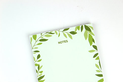 LEAFY NOTES | NOTEPAD | WHOLESALE
