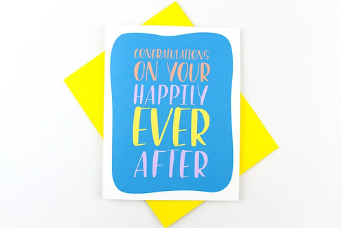 HAPPILY EVER AFTER | CARD | WHOLESALE