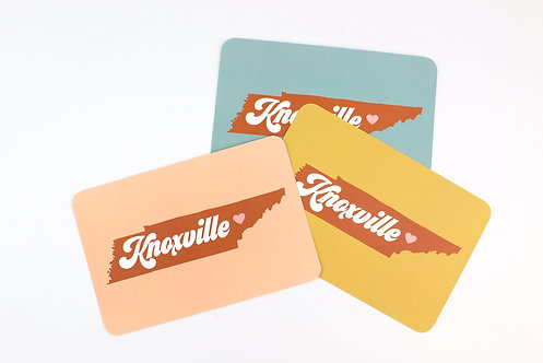 RETRO KNOXVILLE | SET OF 3 OR MORE POSTCARDS