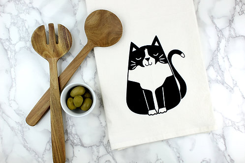 TUXEDO CAT | KITCHEN TOWEL