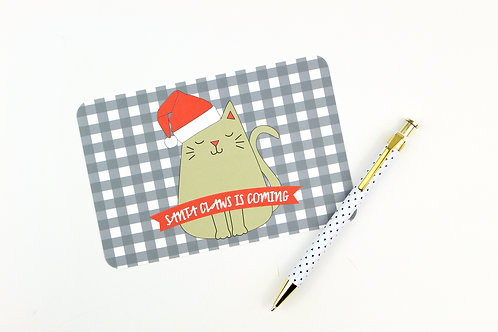 SANTA CLAWS IS COMING | SET OF 3 OR MORE POSTCARDS