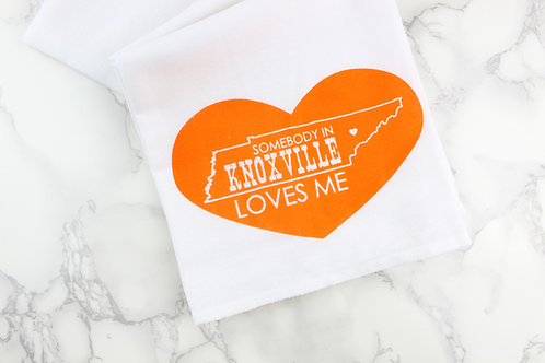 SOMEBODY IN KNOXVILLE, NASHVILLE, OR CHATTANOOGA LOVES ME | KITCHEN TOWEL