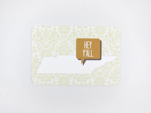 HEY Y'ALL STATE | POSTCARDS | WHOLESALE