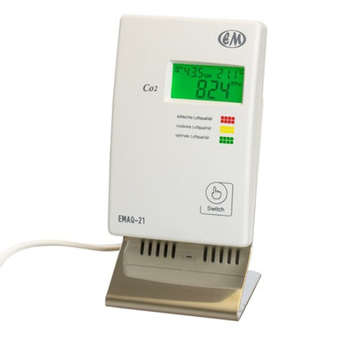 Desktop-CO2-Monitor | EMAQ-21-DT