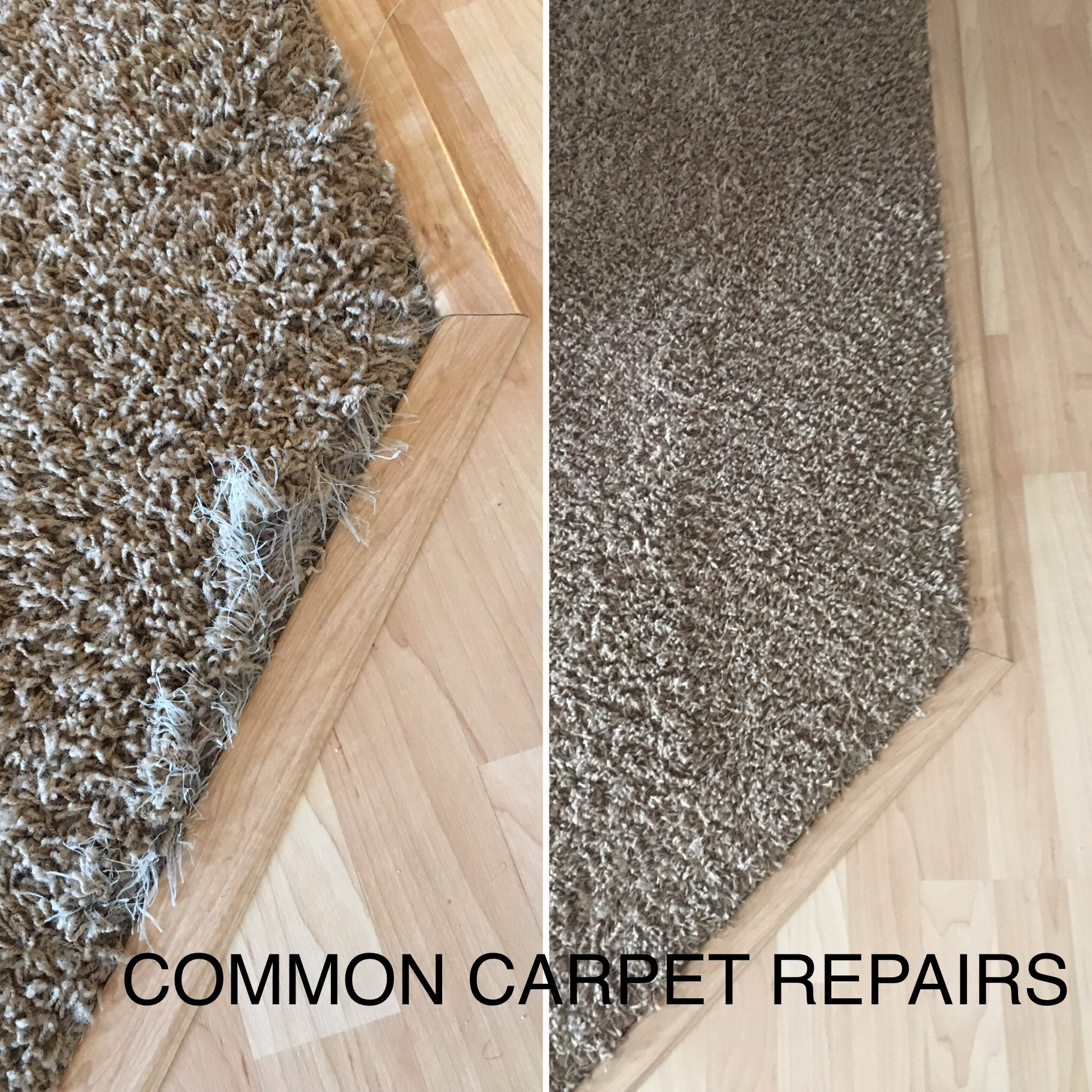Carpet Repair Loose  edge
