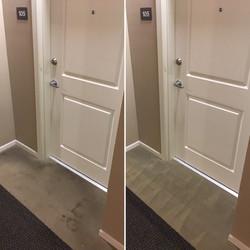 Dirty hallways