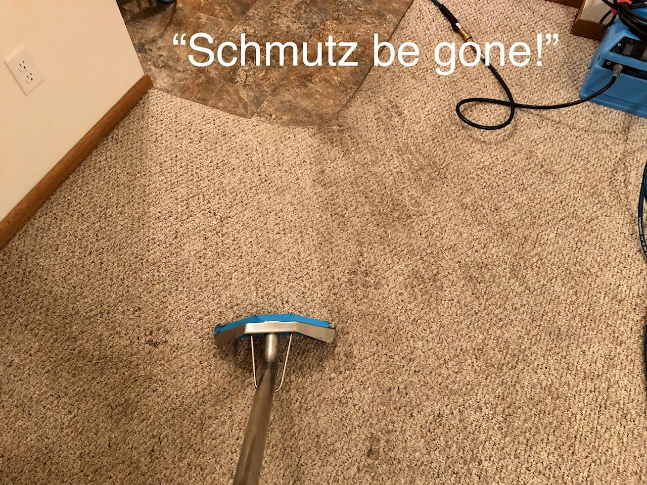 cleaning schmutz
