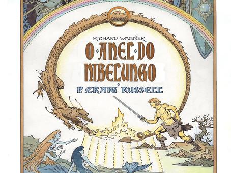 Indica #12- o anel do nibelungo- Quadrinhos