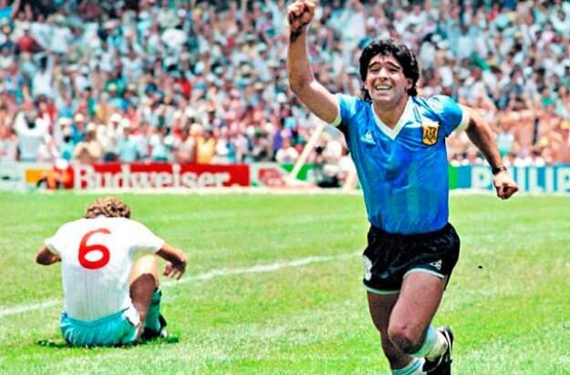 A figura do Deus argentino eternizada