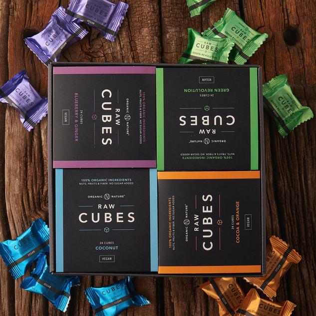Cubes 24 stk. Vegan