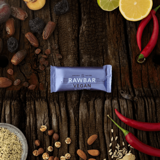 VEGAN RAWBAR Blueberry-Ginger