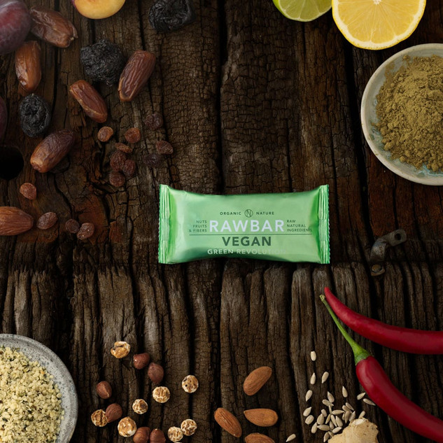 VEGAN RAWBAR Green Revolution