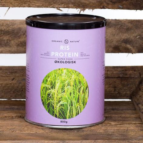Økologisk Risprotein