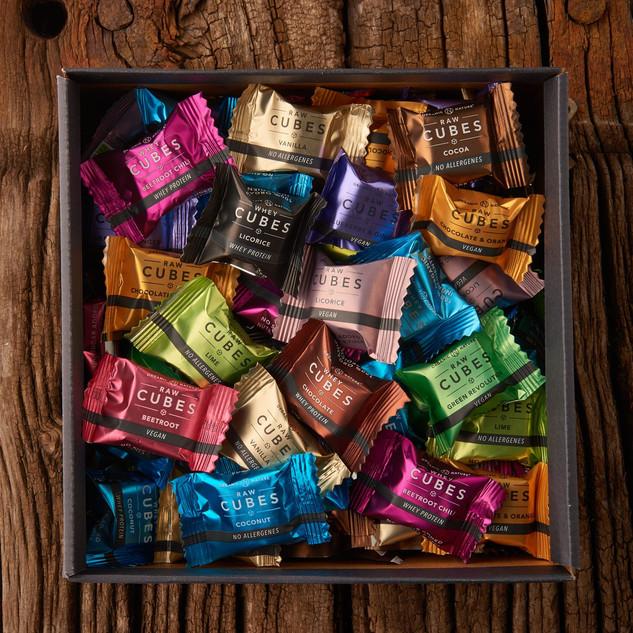 Cubes 96 stk. Mixed